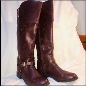 Guess knee-high riding boots